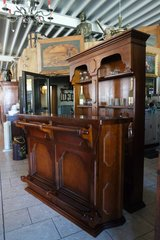 solid wood bar set with 1 stool in Spangdahlem, Germany