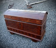 rare antique chest with rounded top in Ramstein, Germany