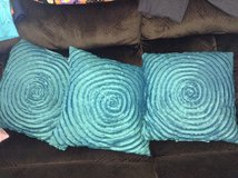 Teal Decorative Pillows in Aurora, Illinois