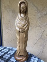 wooden Maria in Ramstein, Germany