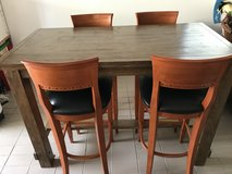 Dining Tall Chairs and High Top Table Set in Ramstein, Germany