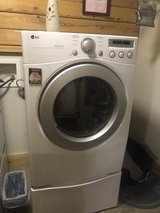 Samsung dryer with drawer in Beaufort, South Carolina