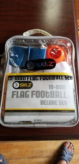 10 Man Flag Football Deluxe set in Okinawa, Japan