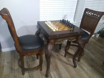 3 in 1 envelope game table with chairs in Kingwood, Texas