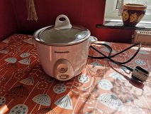 Panasonic rice cooker, has a dent but works great. Price reflects this in Lakenheath, UK