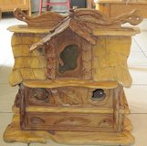 Hand Carved Canadian Cedar BirdHouse multi family in Alamogordo, New Mexico