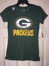 REDUCED! new Green Bay packers tee in Camp Lejeune, North Carolina