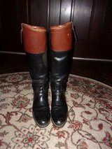 Mans DEHNER 'Fox Hunt' Black Leather Riding Boots in Warner Robins, Georgia