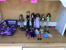 Dolls with accessories and clothes in Algonquin, Illinois