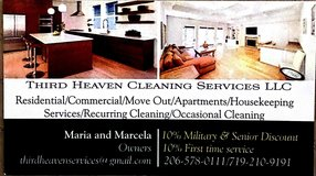 Third Heaven Cleaning Services in Fort Lewis, Washington