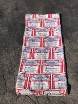 Budweiser sleeping bag in Chicago, Illinois
