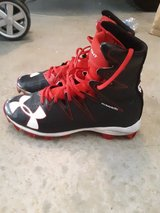 Under Armour size 6 football cleats in Miramar, California