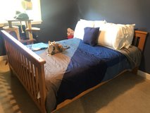 Full size bed frame in Palatine, Illinois