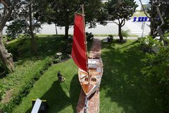 13foot wooden sail boat in Cherry Point, North Carolina