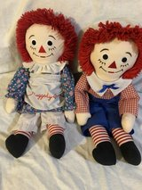 Raggedy Ann and Andy in Spring, Texas