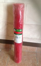 New Red Mesh Ribbon Roll in Okinawa, Japan