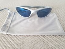 Nike Sunglasses - Grey with Blue Iridium (Cleaning Bag Included) in Okinawa, Japan