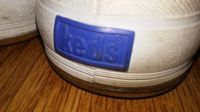 Women's White Canvas Shoes By KEDS in Bellaire, Texas