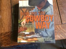 Cooking the Cowboy Way cookbook in Ramstein, Germany