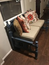 One of a Kind Indoor/Outdoor Farmhouse Bench (JUST REDUCED!) in Alamogordo, New Mexico