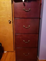 4 drawer wooden file cabinet in Fort Campbell, Kentucky