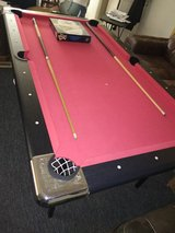 Pool table in Beaufort, South Carolina