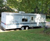 **NOT FLOODED** 1999 Mallard 29' Camper Travel Trailer Deer Lease RV Park Camping in Kingwood, Texas