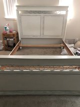Queen headboard and frame in Camp Pendleton, California