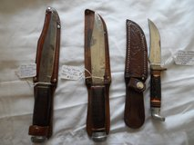 Collectible knives (choice) in Cherry Point, North Carolina