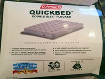 Coleman Air Mattress (Double) in Chicago, Illinois