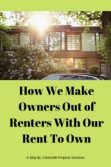We Make Owners Out of Renters in Fort Campbell, Kentucky