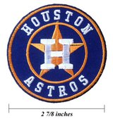 Astros Patch in Kingwood, Texas