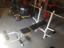 Small weight bench in Fort Leonard Wood, Missouri