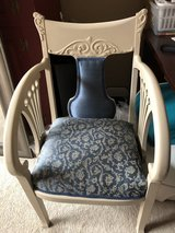 Refinished Antique Armchair (professionally reupholstered) in Aurora, Illinois