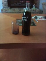 Coke Bottle and Coke Glass. in Fort Campbell, Kentucky