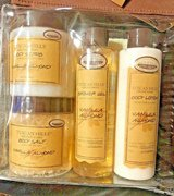 Tuscan Hills 6 Piece Spa Care Set Vanilla Almond in Camp Lejeune, North Carolina