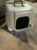 Litter box with cover in Chicago, Illinois