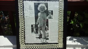 Vintage Saturday Evening Post Advertisement ads for  Canned Milk Baby Framed Picture in Batavia, Illinois