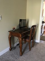 Desk and chair in Camp Lejeune, North Carolina