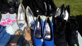 Woman shoes size 8 heels flats boots in Naperville, Illinois