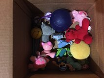 "Box of toys—perfect for a ""treasure chest"" in Chicago, Illinois"