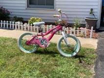 "Girls ""16""  Schwinn bicycle with training wheels in Bartlett, Illinois"