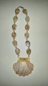 Beautiful Handmade Beaded Seashell Necklaces in Beaufort, South Carolina