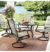 Outdoor tempered Glass Table-table ONLY in Houston, Texas