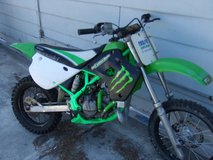 1996 kawasawki kx 80 2 stroke in Camp Lejeune, North Carolina