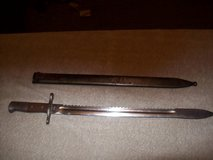 swiss saw back / bayonet/ sword in Naperville, Illinois