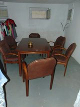 table and chairs in Ramstein, Germany