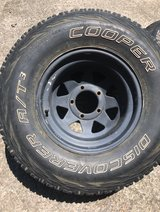 FOUR TIRES W/ RIMS in Fort Campbell, Kentucky