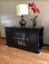 Espresso Wood TV Stand ($100) in Fort Campbell, Kentucky