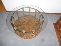 Glass Top Living Room Table in Westmont, Illinois